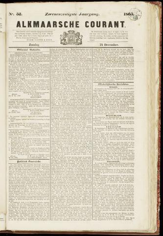Alkmaarsche Courant 1865-12-24