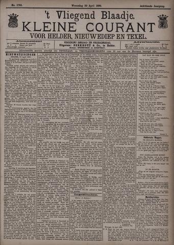 Vliegend blaadje : nieuws- en advertentiebode voor Den Helder 1890-04-30