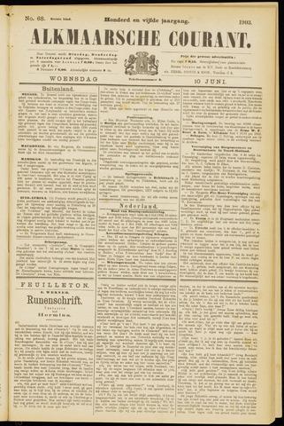 Alkmaarsche Courant 1903-06-10