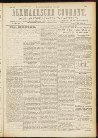 Alkmaarsche Courant 1917-09-29