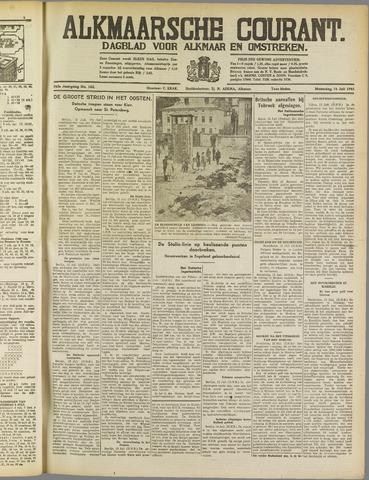 Alkmaarsche Courant 1941-07-14