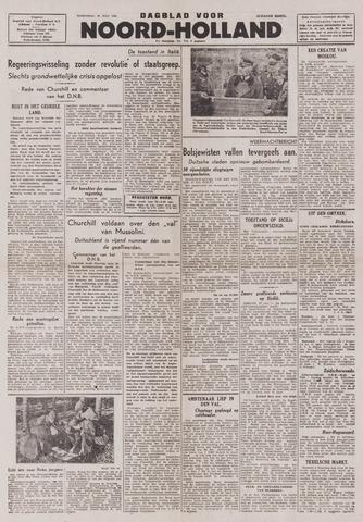 Dagblad Noord-Holland, Schager editie 1943-07-28