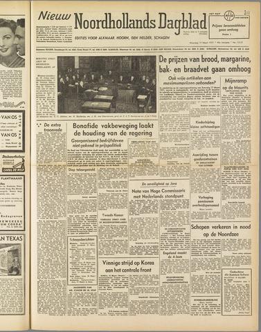 Nieuw Noordhollandsch Dagblad : voor Alkmaar en omgeving 1951-03-19