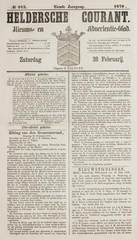Heldersche Courant 1870-02-26