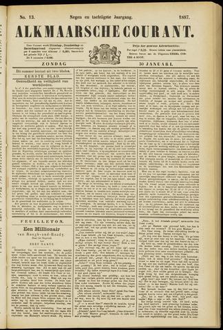Alkmaarsche Courant 1887-01-30