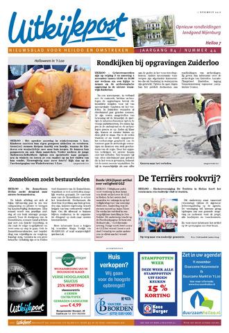Uitkijkpost : nieuwsblad voor Heiloo e.o. 2017-11-01