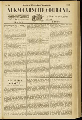 Alkmaarsche Courant 1895-03-01