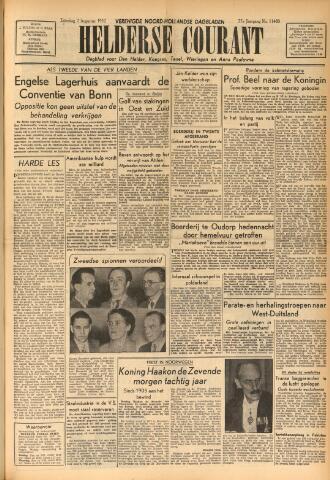 Heldersche Courant 1952-08-02