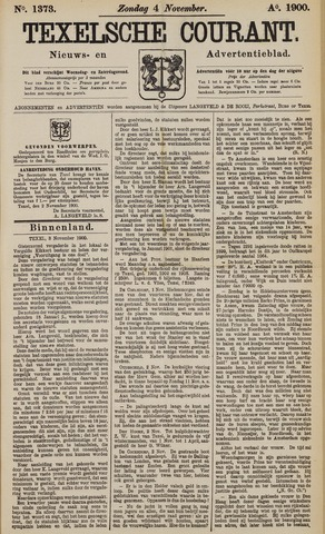 Texelsche Courant 1900-11-04