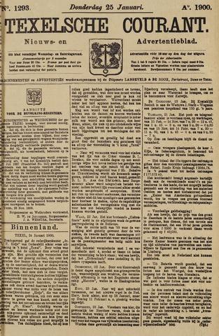 Texelsche Courant 1900-01-25