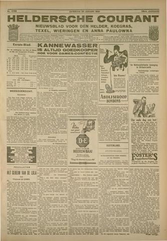 Heldersche Courant 1930-01-25