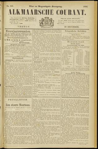 Alkmaarsche Courant 1892-12-30