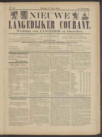Nieuwe Langedijker Courant 1894-06-10