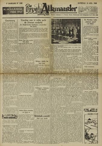 De Vrije Alkmaarder 1948-08-14