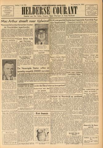 Heldersche Courant 1950-07-11