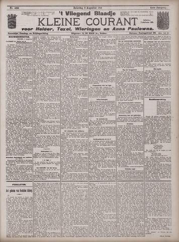 Vliegend blaadje : nieuws- en advertentiebode voor Den Helder 1913-08-09