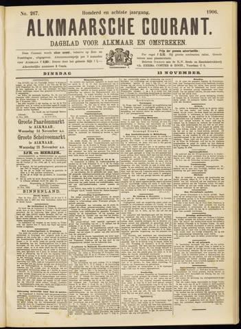 Alkmaarsche Courant 1906-11-13