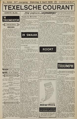 Texelsche Courant 1938-04-02