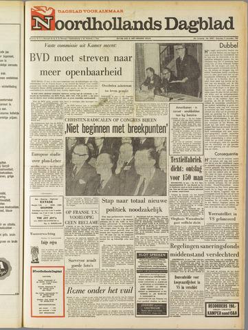 Noordhollands Dagblad : dagblad voor Alkmaar en omgeving 1967-11-11