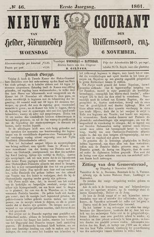 Nieuwe Courant van Den Helder 1861-11-06