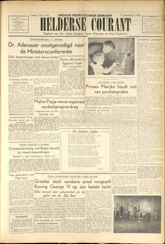 Heldersche Courant 1952-02-15
