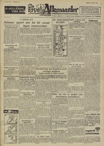 De Vrije Alkmaarder 1950-03-31