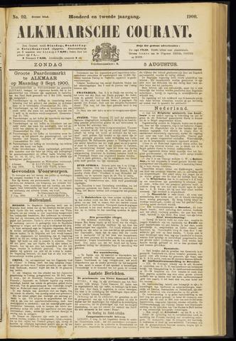 Alkmaarsche Courant 1900-08-05