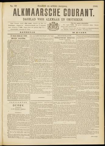 Alkmaarsche Courant 1906-03-10