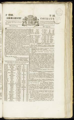 Alkmaarsche Courant 1841-04-19