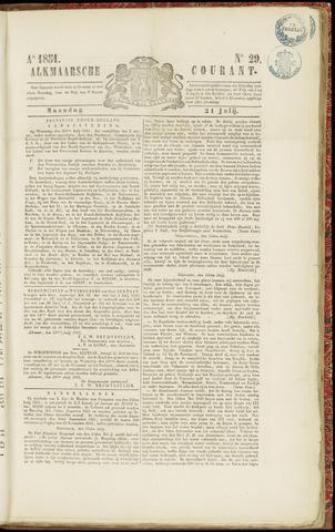 Alkmaarsche Courant 1851-07-21