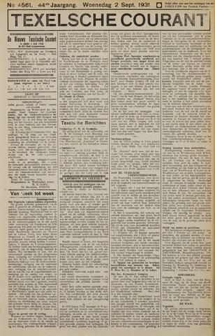 Texelsche Courant 1931-09-02