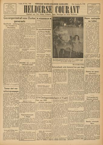 Heldersche Courant 1948-02-20