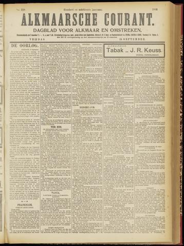 Alkmaarsche Courant 1916-09-15