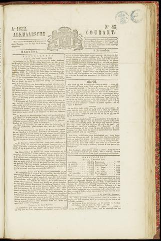 Alkmaarsche Courant 1852-11-08