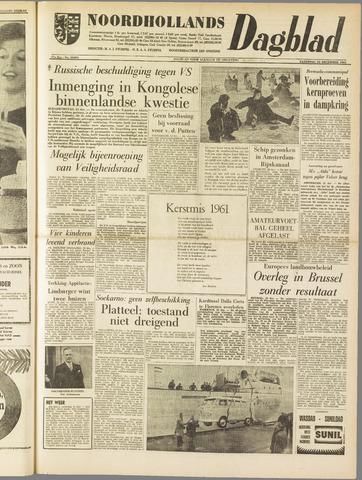 Noordhollands Dagblad : dagblad voor Alkmaar en omgeving 1961-12-23