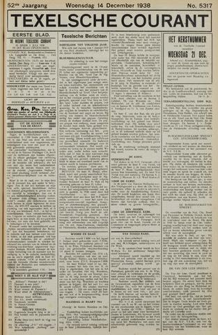 Texelsche Courant 1938-12-14