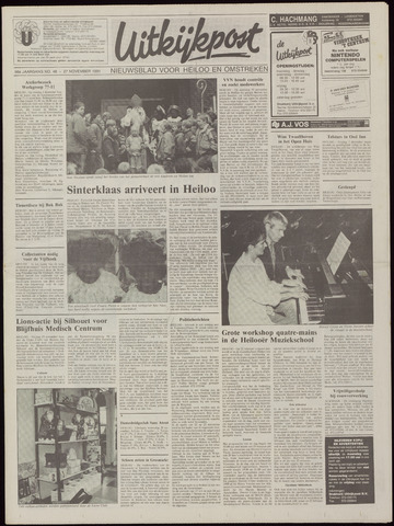 Uitkijkpost : nieuwsblad voor Heiloo e.o. 1991-11-27