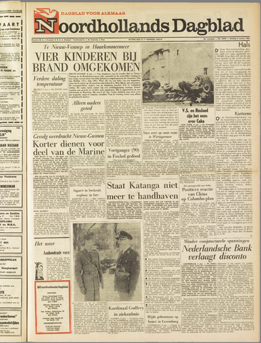 Noordhollands Dagblad : dagblad voor Alkmaar en omgeving 1963-01-08