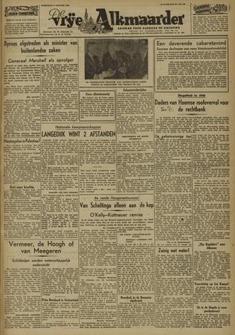 De Vrije Alkmaarder 1947-01-08