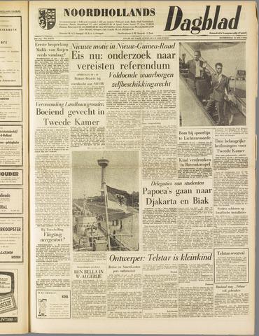 Noordhollands Dagblad : dagblad voor Alkmaar en omgeving 1962-07-12