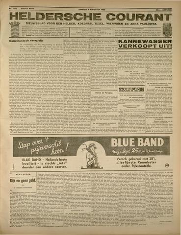 Heldersche Courant 1932-08-09