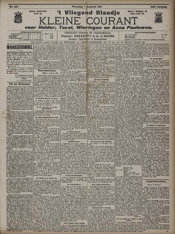Vliegend blaadje : nieuws- en advertentiebode voor Den Helder 1907-08-07