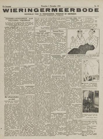 Wieringermeerbode 1943-11-03