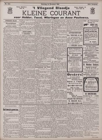 Vliegend blaadje : nieuws- en advertentiebode voor Den Helder 1904-11-26