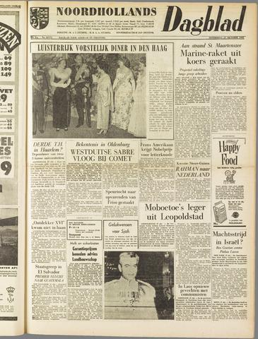 Noordhollands Dagblad : dagblad voor Alkmaar en omgeving 1960-10-27
