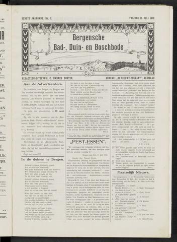 Bergensche bad-, duin- en boschbode 1910-07-15