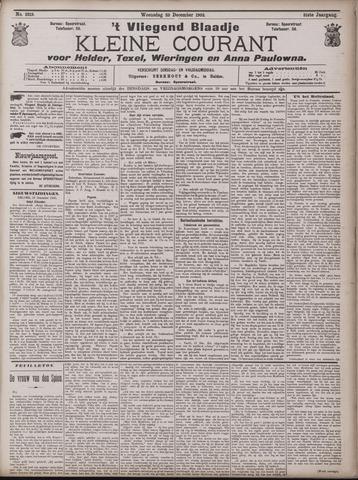 Vliegend blaadje : nieuws- en advertentiebode voor Den Helder 1903-12-23