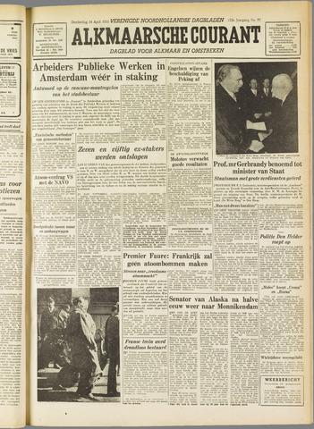 Alkmaarsche Courant 1955-04-14