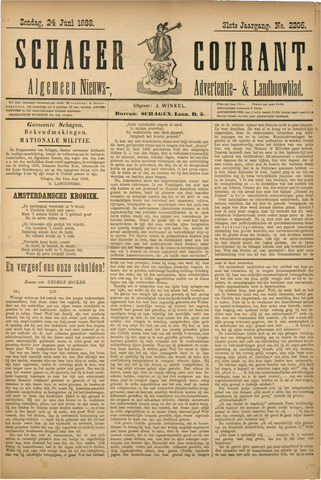 Schager Courant 1888-06-24
