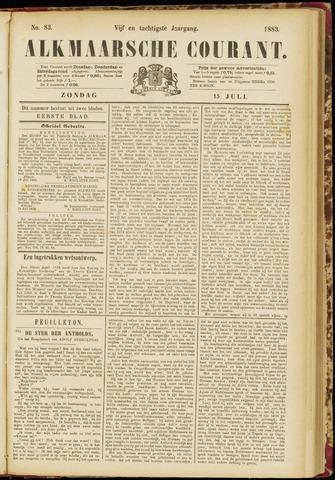 Alkmaarsche Courant 1883-07-15